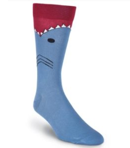 Shark-Themed Gifts - Shark Socks – Men