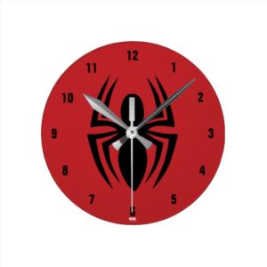 Spider-Man Gifts - Spider-Man Spider Logo Clock