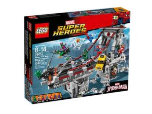 Spiderman Gifts - Spider-Man Web Warriors Ultimate Bridge LEGO Set