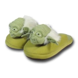 Star Wars Gift Ideas - Yoda Slippers