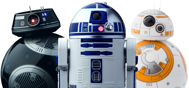 Star Wars Gifts - Star Wars App-Controlled Droids from Sphero