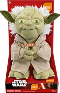 Star Wars Gifts - Talking Star Wars Plush Toys - Yoda