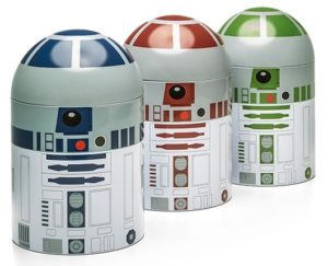 Star Wars Gifts for Adults - Droid Kitchen Container Set