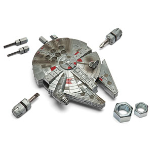Star Wars Gifts for Dad - Millennium Falcon Multi-Tool Kit