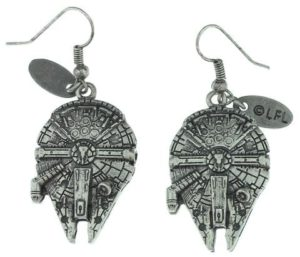 Star Wars Gifts for Her - Millennium Falcon Earrings