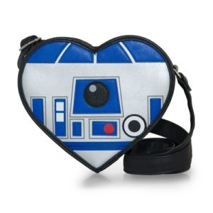 Star Wars Valentines Gifts for Her - Heart-Shaped R2-D2 Crossbody Bag
