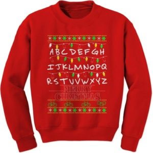 Stranger Things Christmas Presents - Stranger Things Ugly Christmas Sweatshirt