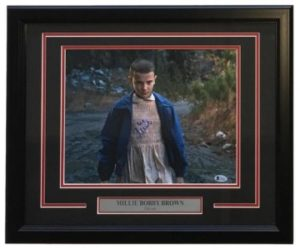 Stranger Things Gifts - Millie Bobby Brown Autographed Eleven Photo