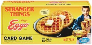 Stranger Things Gifts - Stranger Things Eggo Card Game