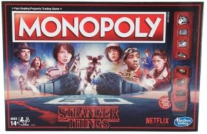 Stranger Things Gifts - Stranger Things Monopoly Board Game