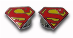 Superman Gifts - Superman Cufflinks