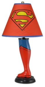 Superman Gifts - Superman Leg Lamp