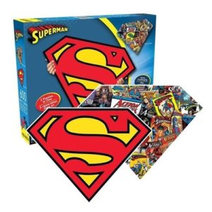 Superman Gifts - Superman Symbol Double-Sided Puzzle