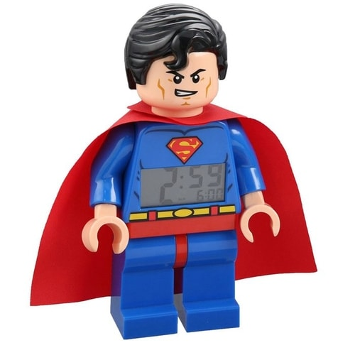 Superman Gifts for Kids - Superman LEGO Alarm Clock