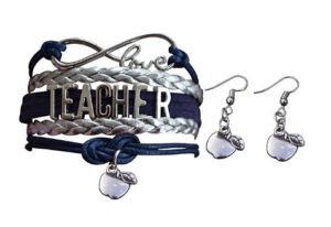 Teacher Appreciation Gifts - Teacher Earrings and Bracelet Set