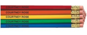 Teacher Appreciation Week Gift Ideas - Personalized Pencils