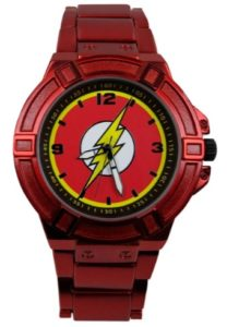 The Flash Gifts - The Flash Merchandise - Flash Symbol Watch