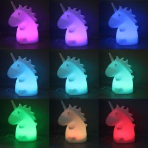 Unicorn Gifts - Uni the Unicorn Bedside Lamp
