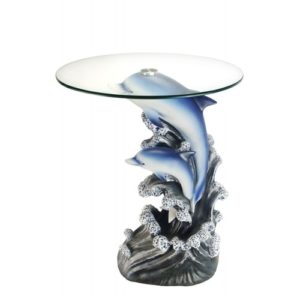 Unique Dolphin Gifts - Dolphin End Table