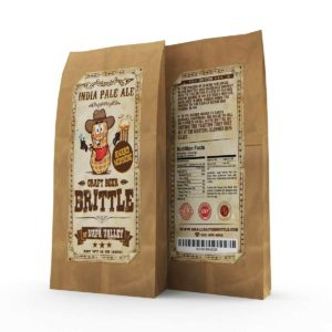 Unique Gift Ideas for Beer Lovers - Gourmet Craft Beer Peanut Brittle