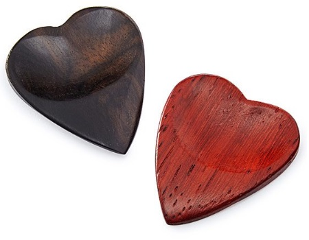 Unique Romantic Valentine's Gifts for Him - Heart-Shaped Guitar Picks