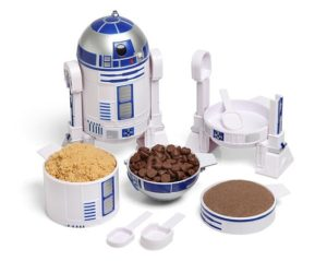 Unique Star Wars Gift Ideas - R2-D2 Measuring Cup Set