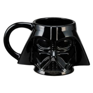Unique Star Wars Gifts - Star Wars Character Sculpted Ceramic Coffee Mugs - Darth Vader