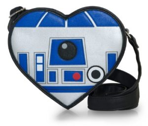 Unique Valentine's Day Gifts for Her - Heart-Shaped Star Wars R2-D2 Crossbody Bag