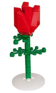 Unique Valentine's Day Gifts for Her - LEGO Rose