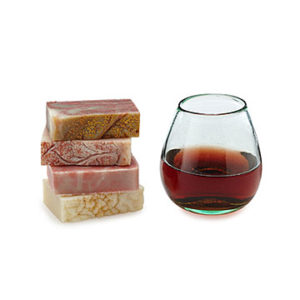 Unique Valentine's Day Gifts for Her - Wine Soaps