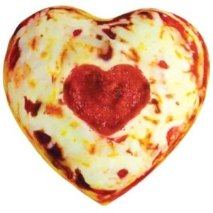 Unique Valentine's Day Gifts for Him - Heart-Shaped Pizza Pillow