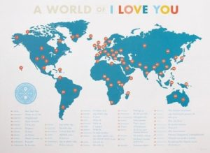 Unique Valentine's Day Gifts for Wife - A World of I Love You