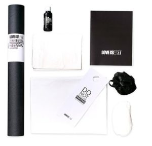 "Unique Valentine's Gifts for Him - ""Love Is Art"" Kit"