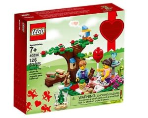 Unique Valentine's Gifts for Him - Romantic Valentine Picnic LEGO Set
