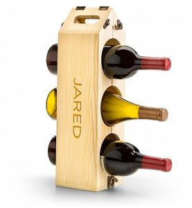 Unique Wine Gifts - Personalized Wooden Convertible Wine Rack