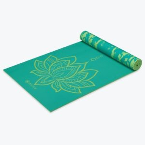 Unique Yoga Gifts - Gaiam Print Premium Reversible Yoga Mats