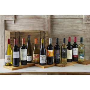 Wine Gifts - Twelve-Bottle Wine Assortment, from Wine of the Month Club