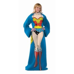 Wonder Woman Gift Ideas - Wonder Woman Sleeved Throw