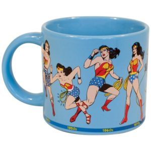 "Wonder Woman Gifts - ""Wonder Woman Through the Years"" Mug"