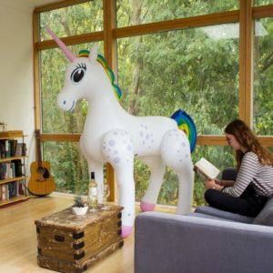 unicorn gift - giant inflatable unicorn