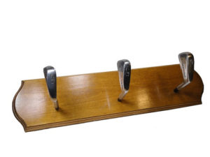 gifts for golfers - golf club coat rack