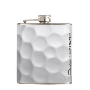 Gifts for Golfers - Personalized Golf Ball Flask