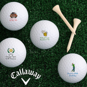 golf gifts - personalized golf balls