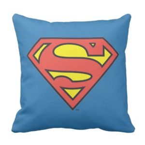 superman gifts - throw pillow